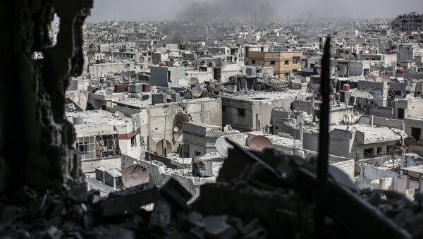Syryjskie miasto Hims - Sputnik Polska