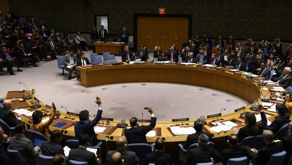 Posiedzenie Rady Bezpieczeństwa ONZ w Nowym Jorku - Sputnik Polska