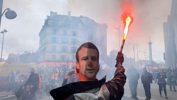 Manifestacja w Paryżu - Sputnik Polska