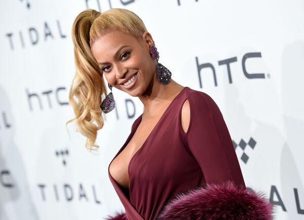 Amerykańska piosenkarka i aktorka Beyonce Knowles na TIDAL X: 1020 Amplified by HTC w Nowym Jorku  - Sputnik Polska