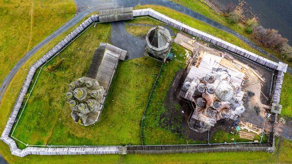 Terytorium Państwowego Muzeum Historyczno-Architektonicznego w Kiży, Karelia - Sputnik Polska