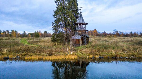 Kaplica Kosmy i Damiana w Karelii - Sputnik Polska