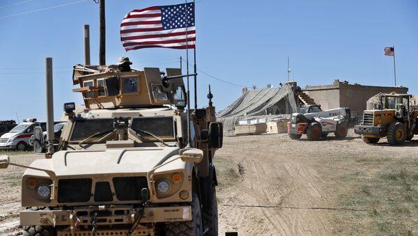 Amerykańscy żołnierze w Syrii - Sputnik Polska