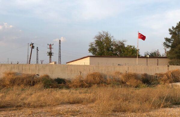 Miasto Ajn al-Arab na granicy z Turcją - Sputnik Polska