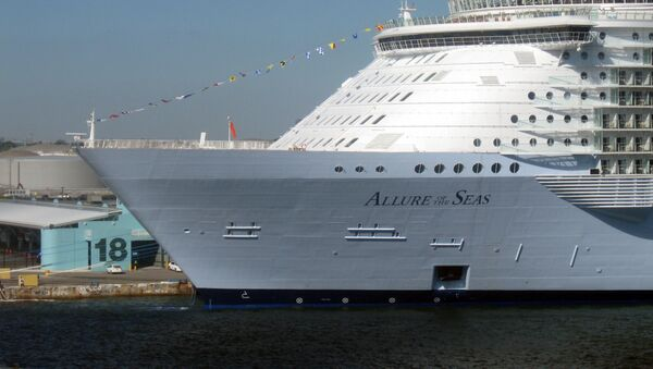 Statek wycieczkowy Allure of the Seas - Sputnik Polska