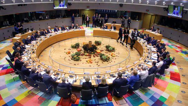 Szczyt przywódców UE w Brukseli. - Sputnik Polska