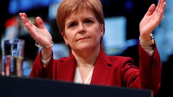Pierwsza minister Szkocji Nicola Sturgeon  - Sputnik Polska