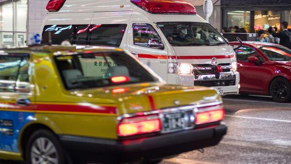 Ambulans na ulicyt Tokio - Sputnik Polska