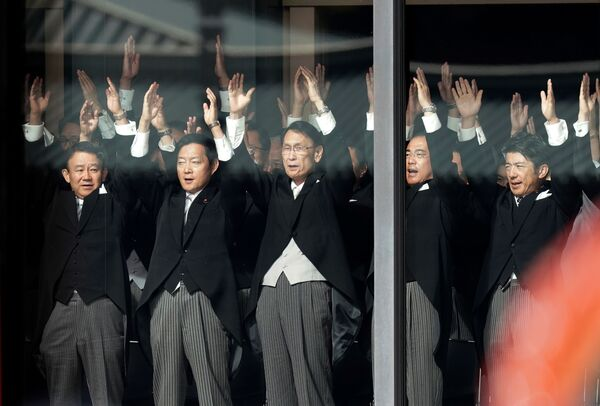 Ceremonia intronizacji cesarza Naruhito w Tokio  - Sputnik Polska