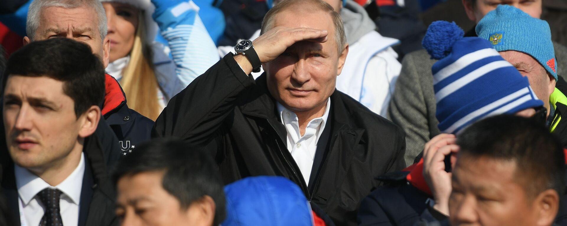 Prezydent Rosji Władimir Putin - Sputnik Polska, 1920, 23.10.2019