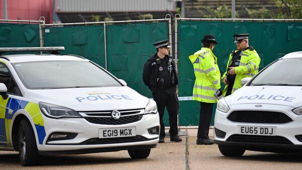 W ciężarówce na terenie parku przemysłowego w hrabstwie Essex, w południowo-wschodniej Anglii, znaleziono zwłoki 39 osób. - Sputnik Polska
