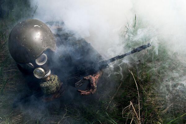 Testy na prawo do noszenia bordowego beretu w obwodzie nowosybirskim  - Sputnik Polska