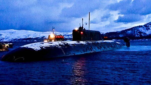 Atomowy okręt podwodny Niżny Nowogród  - Sputnik Polska