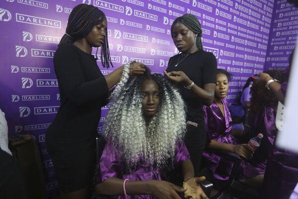 Tydzień mody w Nigerii - Sputnik Polska