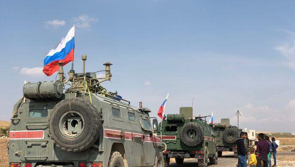 wojsko rosyjskie w Syrii - Sputnik Polska