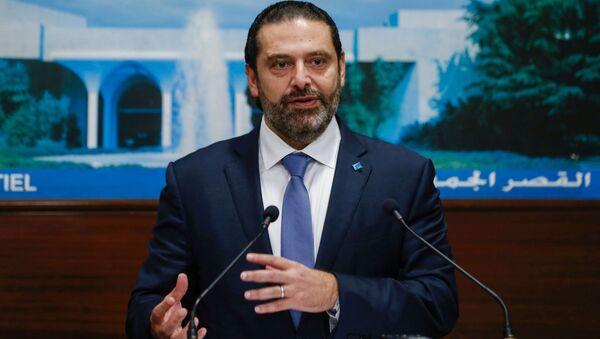 Premier Libanu Sad al-Hariri - Sputnik Polska