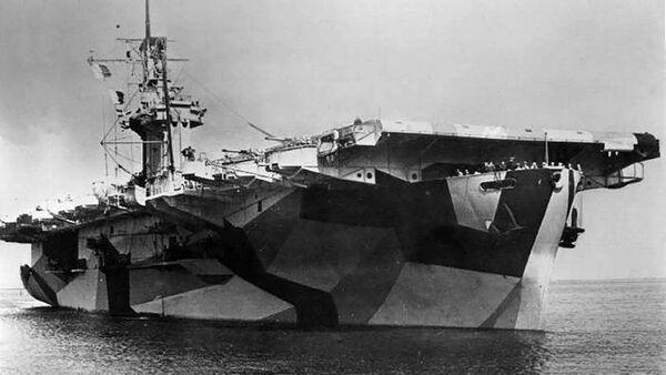 Amerykański lotniskowiec USS St. Lo - Sputnik Polska