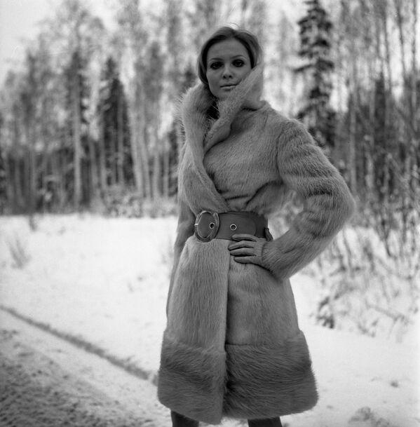 Futro z nutrii z kolekcji rosyjskich futer z 1968 r. - Sputnik Polska