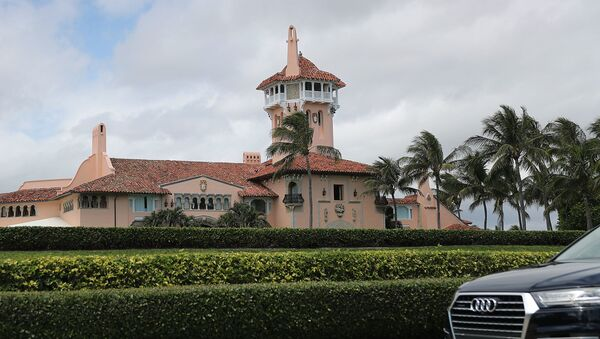 Posiadłość prezydenta USA Donalda Trumpa Mar-a-Lago na Florydzie - Sputnik Polska