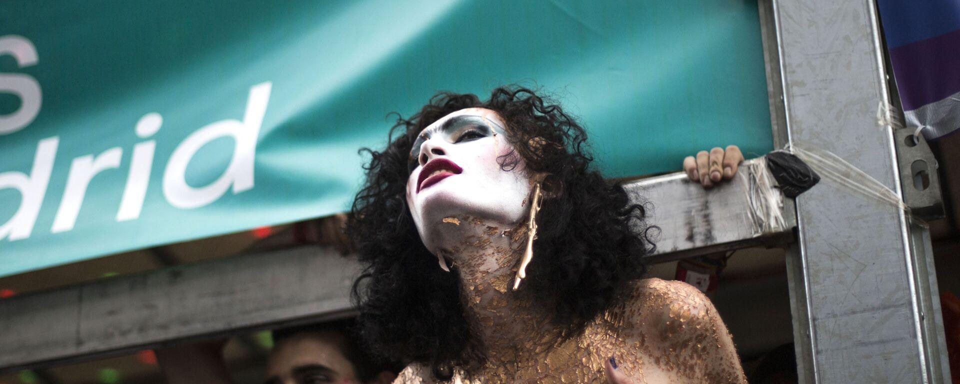 Parada LGBT w Madrycie - Sputnik Polska, 1920, 16.08.2021