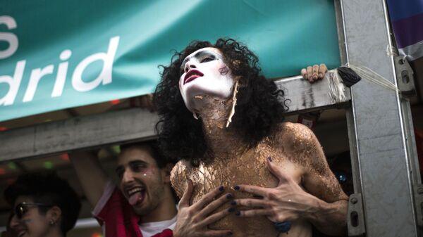 Parada LGBT w Madrycie - Sputnik Polska