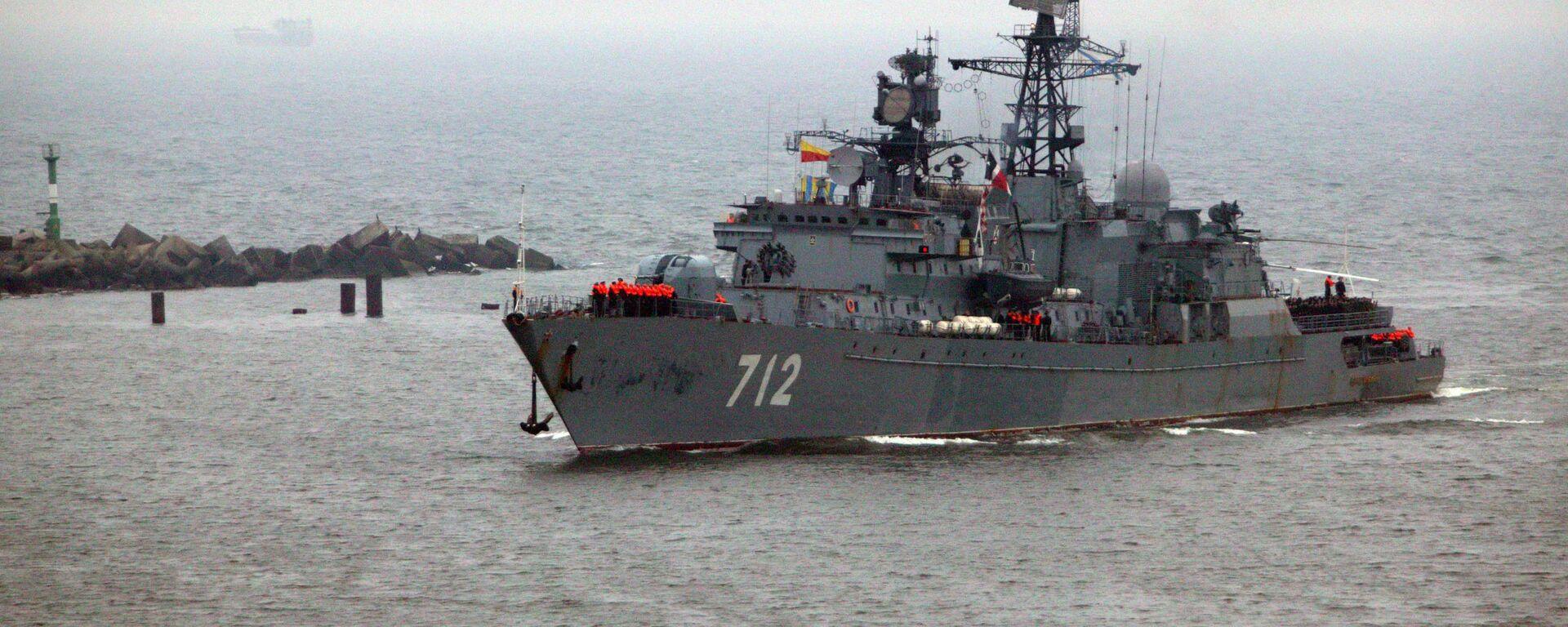 Strażniczy okręt Floty Bałtyckiej Nieustraszony - Sputnik Polska, 1920, 23.06.2021