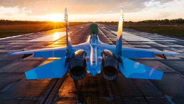 Myśliwiec Su-30SM - Sputnik Polska