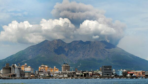 Wulkan Sakurajima - Sputnik Polska