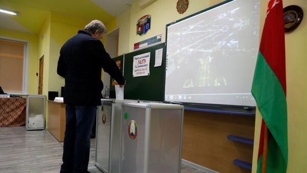 Wybory parlamentarne na Białorusi - Sputnik Polska