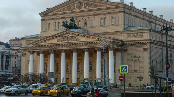 Widok na Państwowy Akademicki Teatr Wielki w Moskwie - Sputnik Polska
