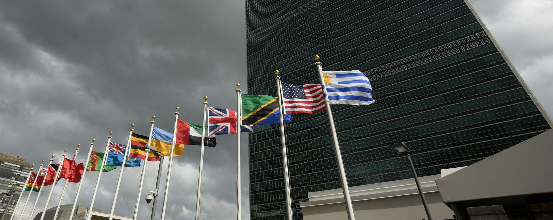 Siedziba ONZ w Nowym Jorku - Sputnik Polska, 1920, 17.09.2021