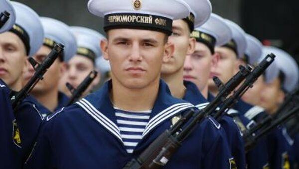 Marynarze Floty Czarnomorskiej Rosji - Sputnik Polska