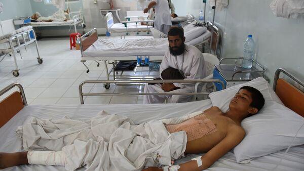 Szpital organizacji międzynarodowej Lekarze bez Granic w Kunduzie na północy Afganistanu - Sputnik Polska