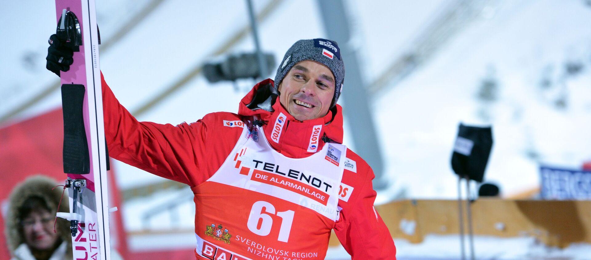 Polski skoczek narciarski Piotr Żyła - Sputnik Polska, 1920, 27.02.2021