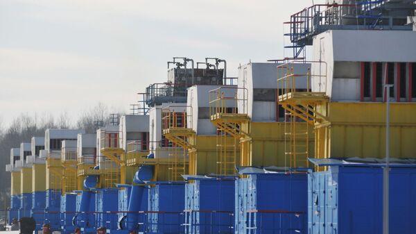 Zbiorniki gazu na Ukrainie - Sputnik Polska