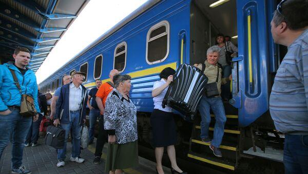 Ukraińskie koleje - Sputnik Polska
