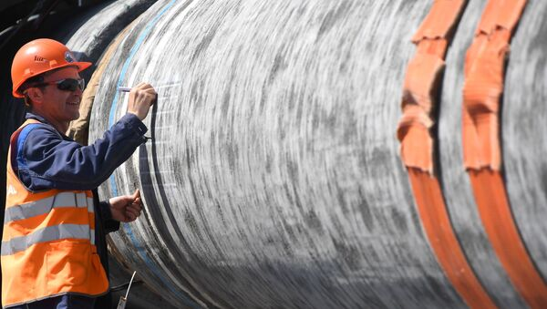 Budowa gazociągu Nard Stream 2 - Sputnik Polska