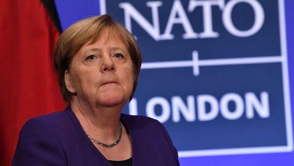 Kanclerz Niemiec Angela Merkel na szczycie NATO w Londynie - Sputnik Polska