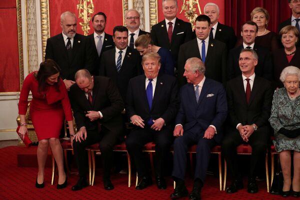 Zdjęcie grupowe liderów NATO w Londynie  - Sputnik Polska