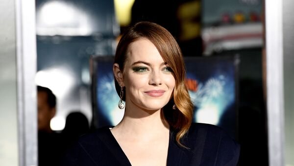Amerykańska aktorka Emma Stone - Sputnik Polska