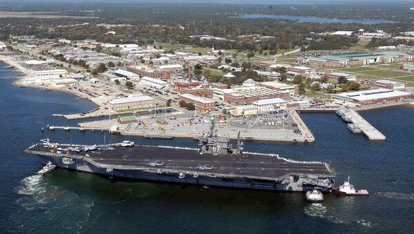 Baza Naval Air Station Pensacola na Florydzie - Sputnik Polska