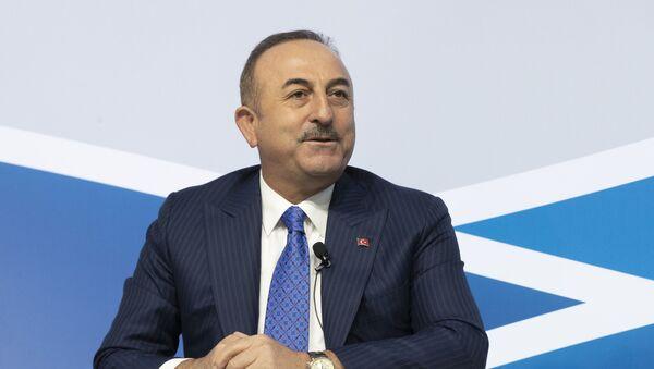 Minister spraw zagranicznych Turcji Mevlüt Cavusoglu - Sputnik Polska