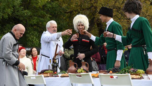 Festiwal wina w Abchazji - Sputnik Polska