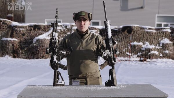 Porównanie karabiny AK-12 i M4 - Sputnik Polska