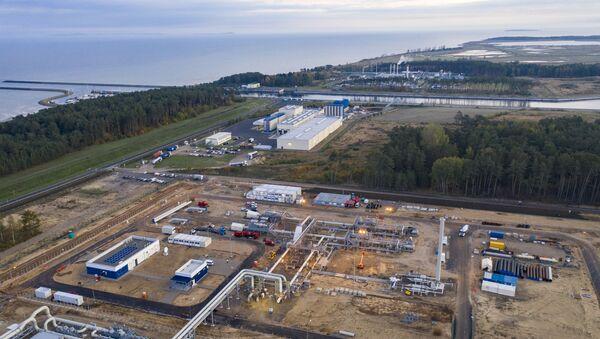 Budowa gazociągu Nord Stream 2. Lubmin, Niemcy. - Sputnik Polska