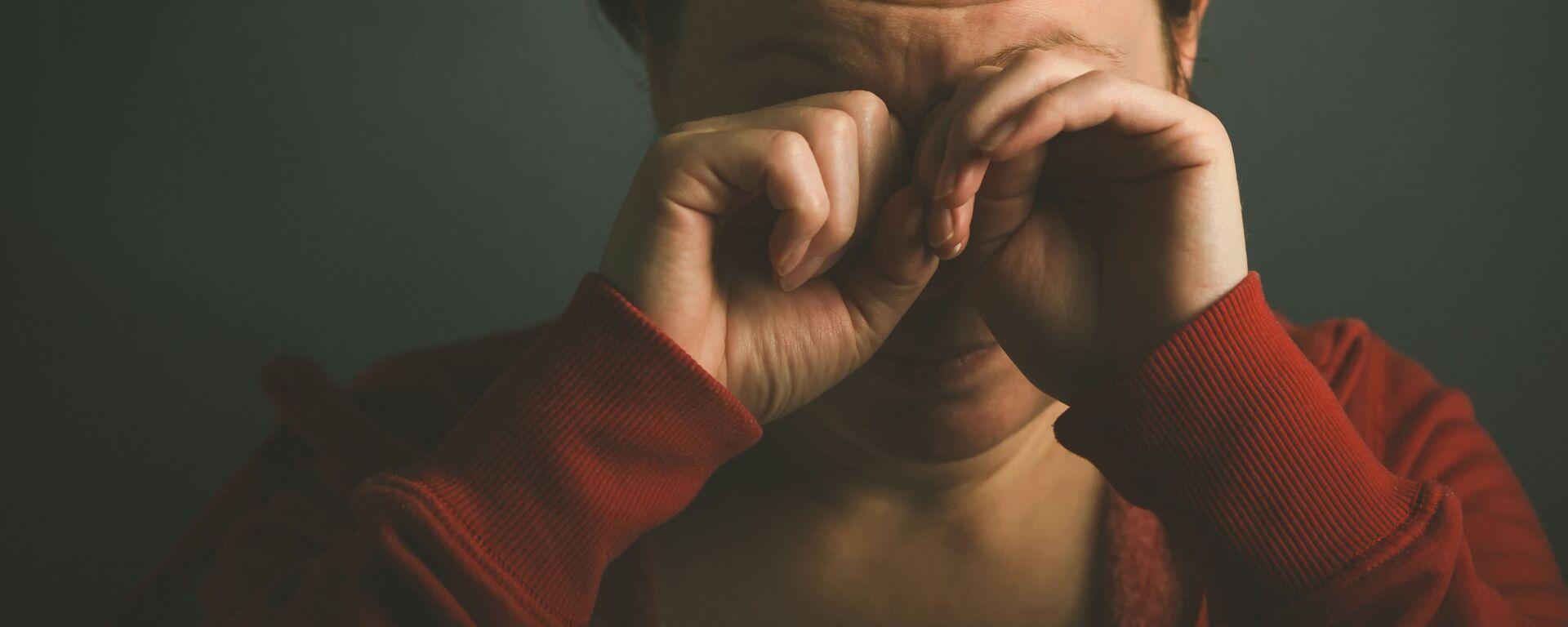 Płacząca kobieta - Sputnik Polska, 1920, 13.03.2021