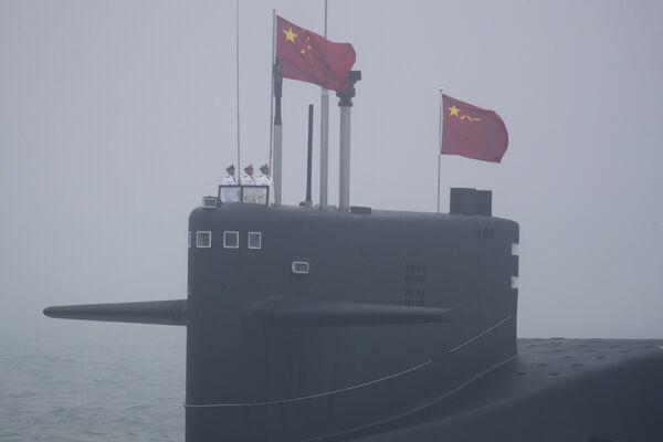 Chiński okręt podwodny 094 Long March 15 - Sputnik Polska