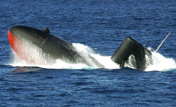 Japoński okręt podwodny Yukishio - Sputnik Polska