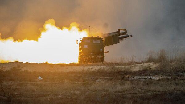 Start rakiety z amerykańskiej wyrzutni - Sputnik Polska