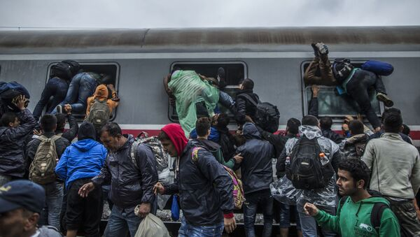 Chorwacja, migranci - Sputnik Polska